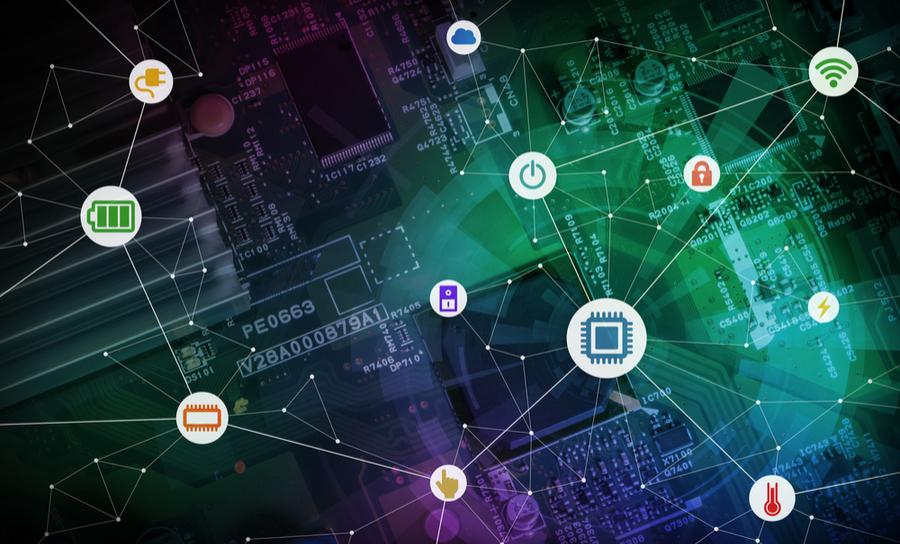 Wireless sensor and IoT graphics