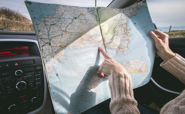 Using a road map for topology planning and routing your road trip