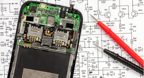 Smartphone schematic and PCB for 5G systems