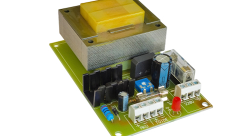 Switching power supply on a PCB