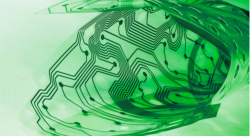 Green flexible circuit board