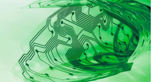 Green flexible circuit board