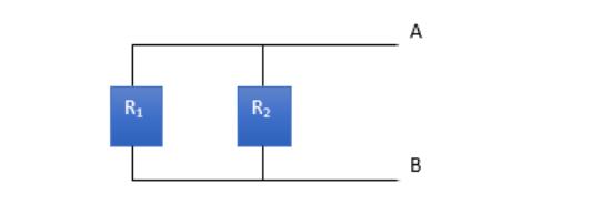 Thevenin's equivalent voltage circuit