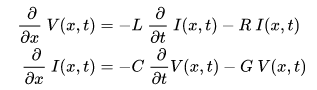 Telegrapher's equations
