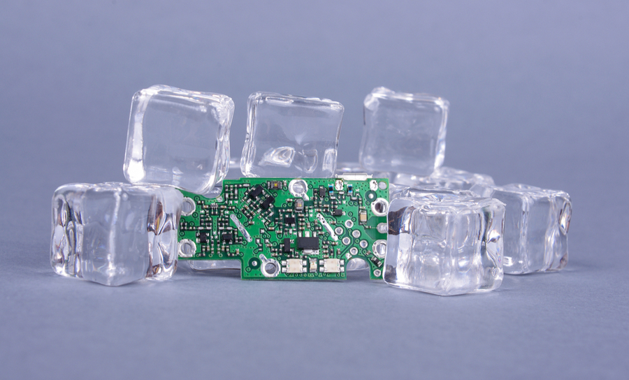 The high power PCB thermal conductivity keeps temperatures low
