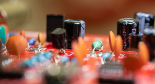 Components on a circuit board
