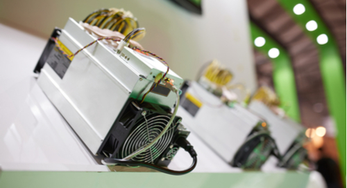 Antminer with ASICs