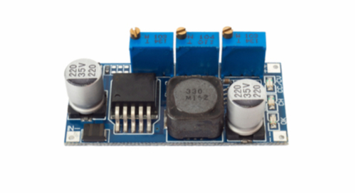 Picture of a DC-DC buck converter design