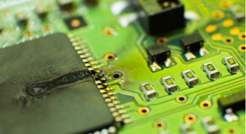 Microcontroller leakage and short on a printed circuit board