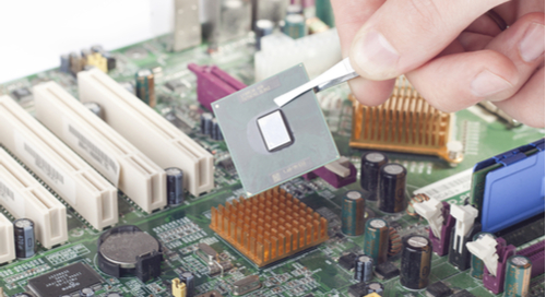 Replacing a board processor after damages