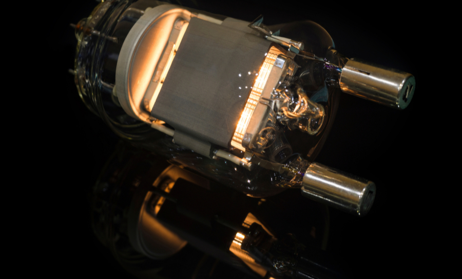Pentode amplifier