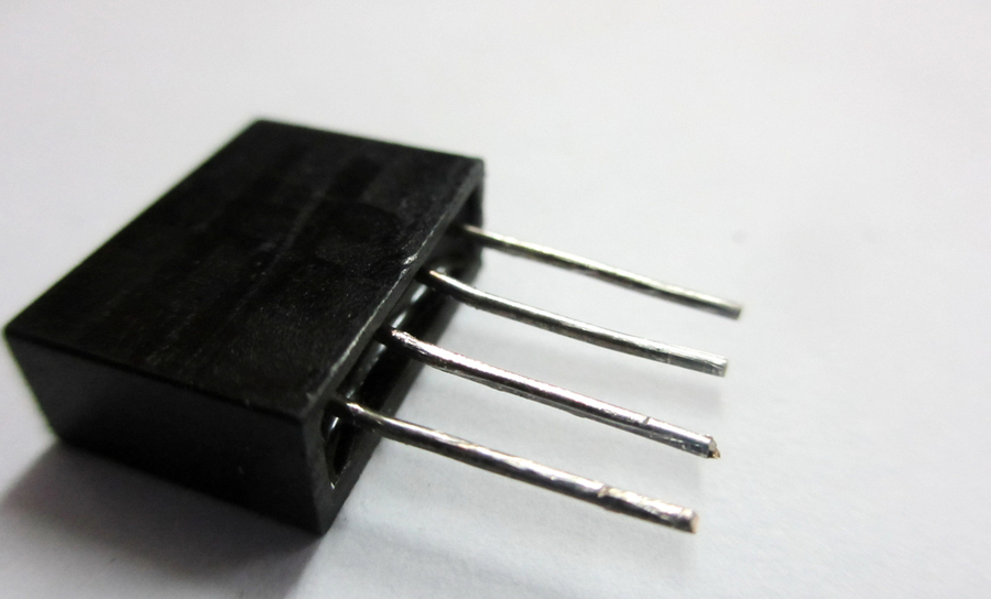 MOSFETs on black background