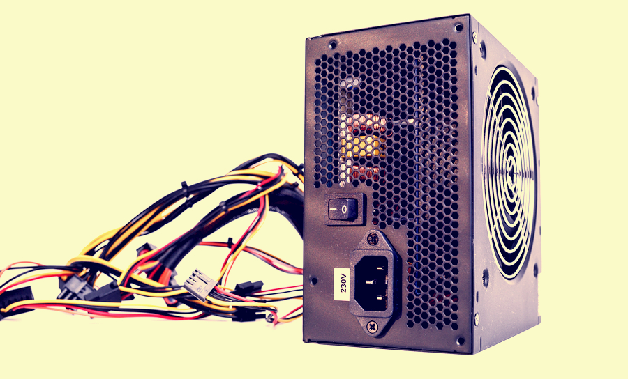 DC power supply for a computer
