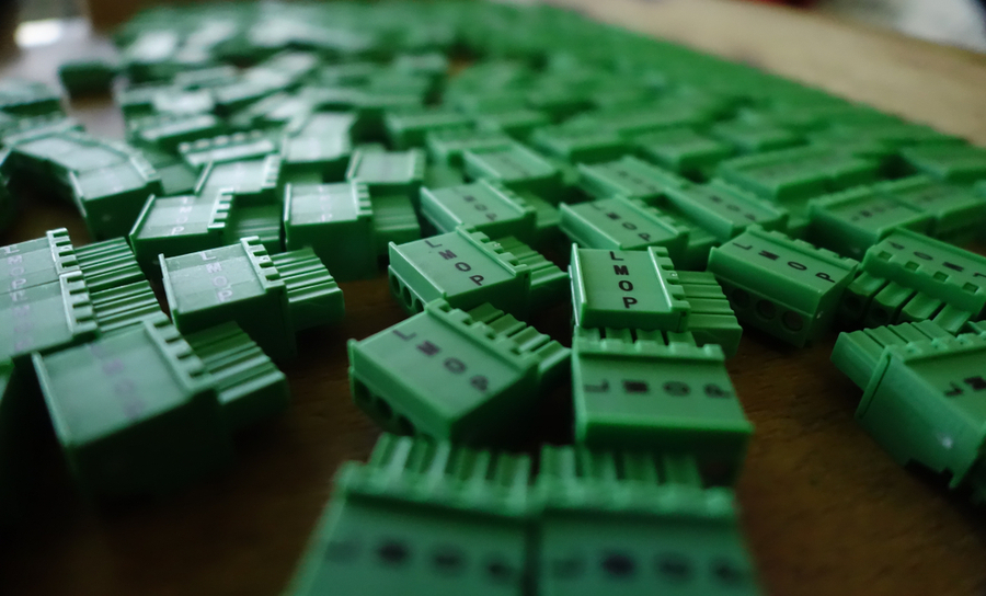Green PCB connectors