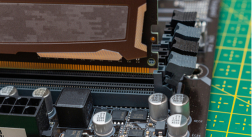 DDR RAM chip installation