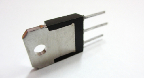 Power MOSFET with VRM heatsink