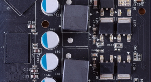 MOSFETs VRM heatsink