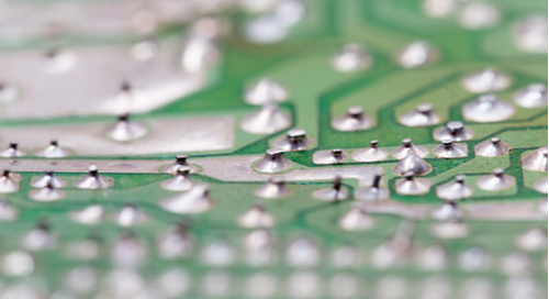 Proper ground separation on a printed circuit board