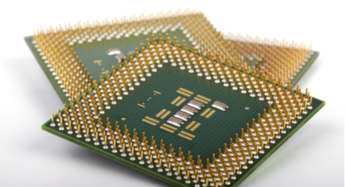 IC produced with embedded systems vs. VLSI design