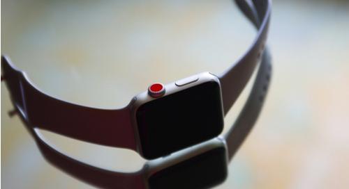 flexible smart watch IoT device