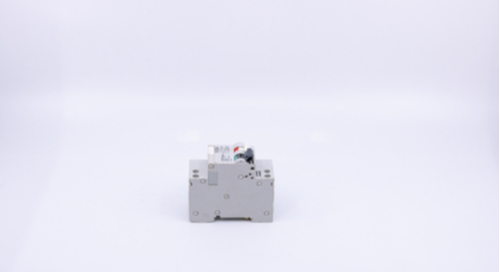 Circuitbreaker switch circuit on a white background