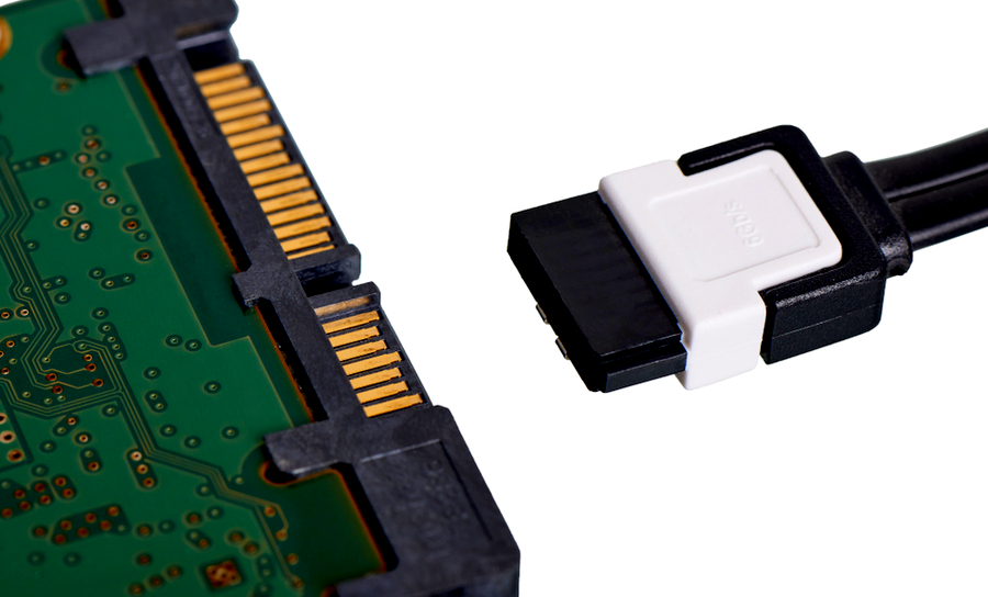 Serial attachment terminal for computers