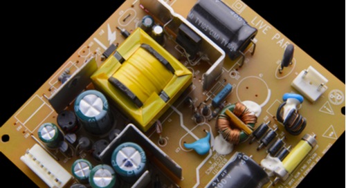 Picture of an isolated power supply