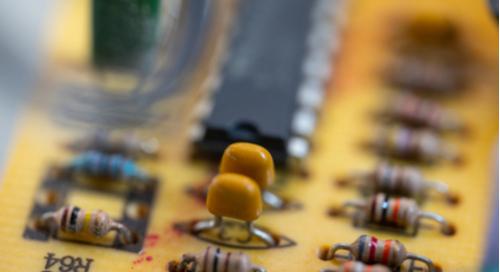 Transistors on a circuit