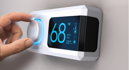 Digital thermometer connecting the house through an IoT architecture