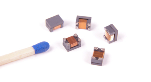 Ferrite materials over small components