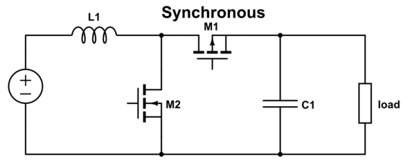 Synchronous boost converter