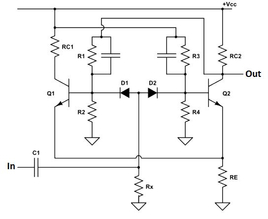Synchronous bistable multivibrator