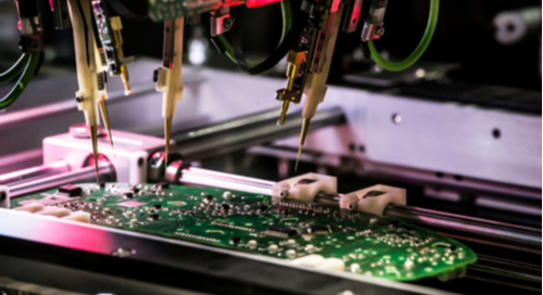 Printing and assembling a printed circuit board