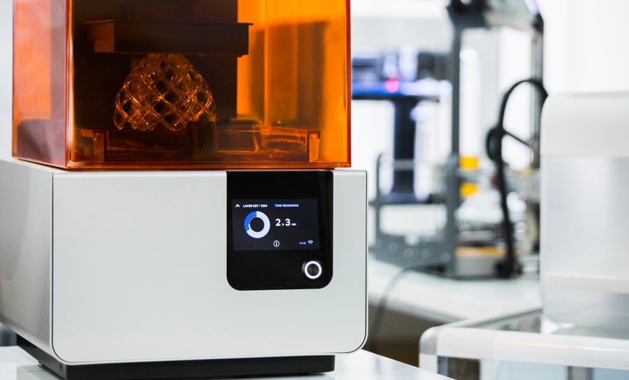Stereolithography apparatus in a laboratory