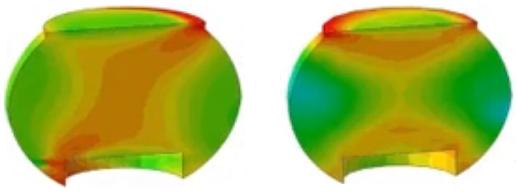 BGA solder joint reliability simulation