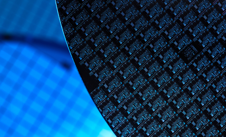 Collection of silicon wafers