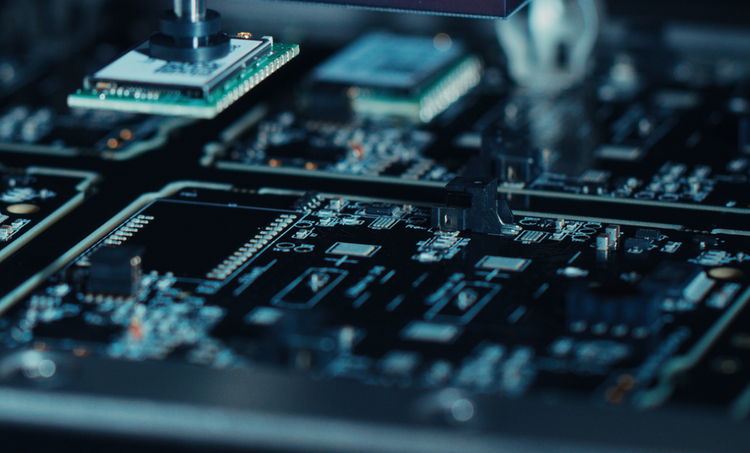 Machine assembly of mass production circuit boards