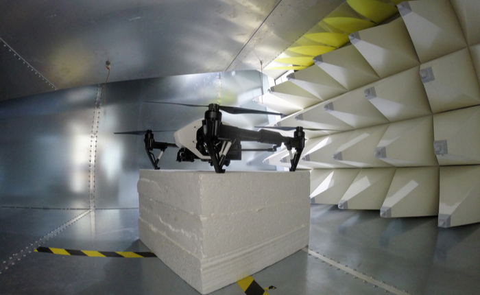 SPICE EMC simulation and measurement in an anechoic chamber