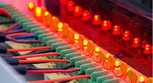 DC power supply feeding circuits
