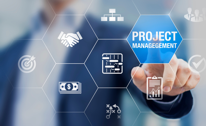 Concept image of project management