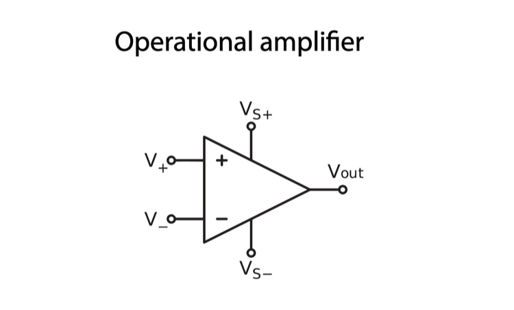 Operational amplifier schematic
