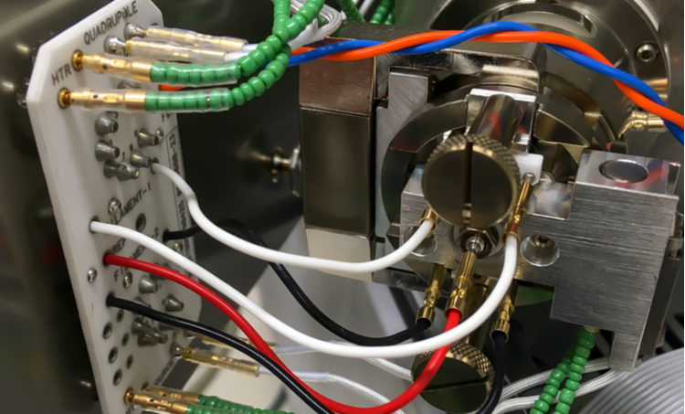 Circuitry inside a mass spectrometer