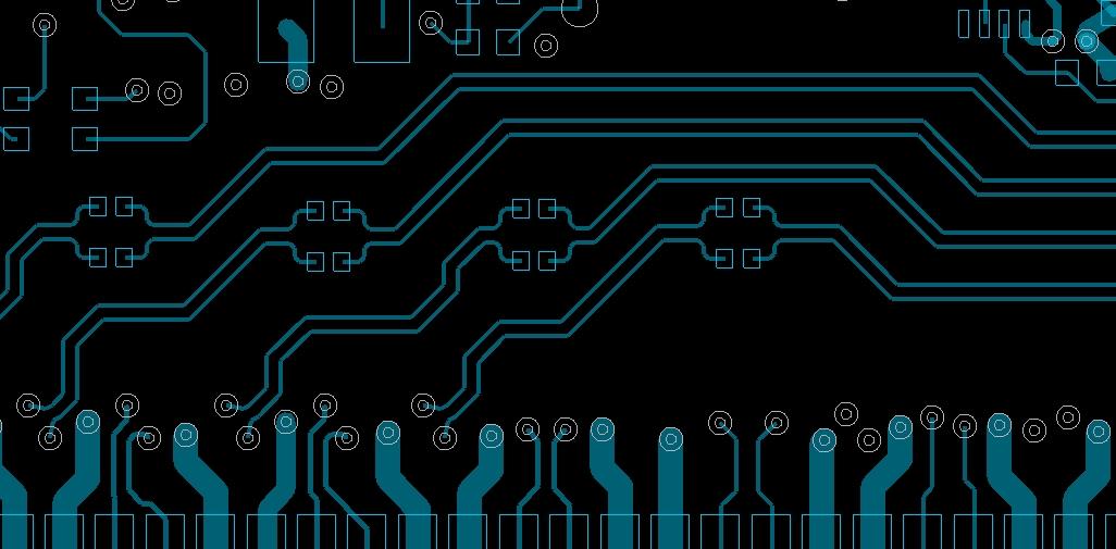 Differential pair routing in Allegro PCB Designer