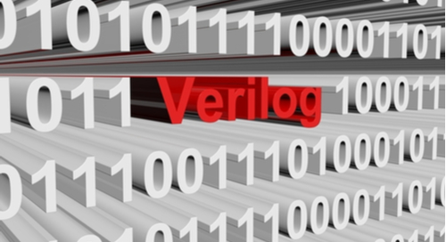 Verilog in the form of binary code