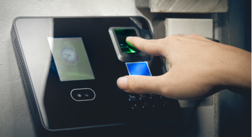 Biometric scanning device powered by 32-bit microcontroller