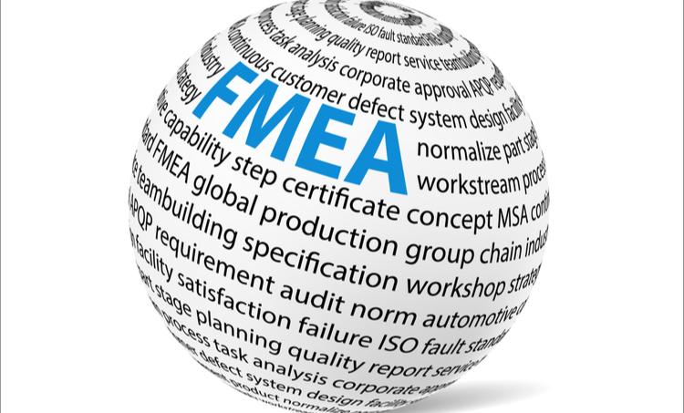 Globe with FMEA and production topics