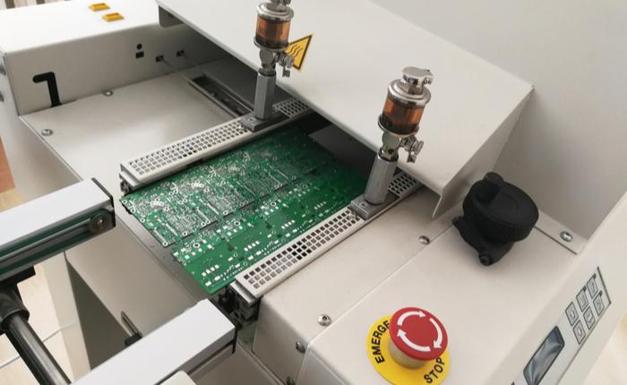 SMD soldering machine