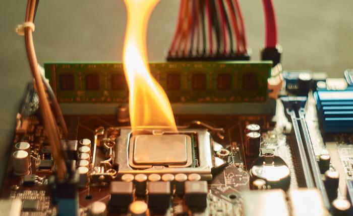 CPU overheating.