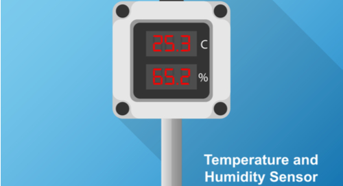 Temperature and humidity sensor monitor utilizing hysteresis for increased accuracy and functionality