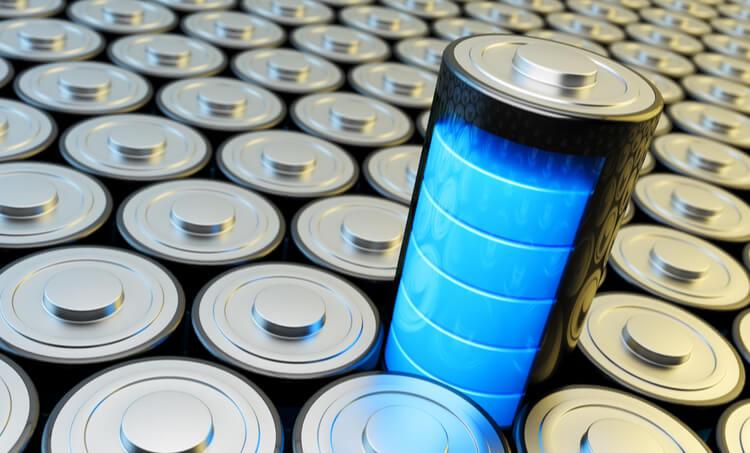 Warburg impedance batteries